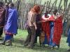 Anne mit Massaifrauen