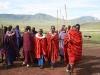 Massai Begruessungstanz