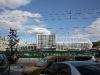 Das zukünftige EM-Stadion - eigentlich sollte es schon ein wenig weiter sein...