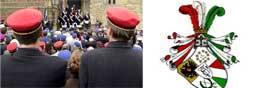 Burschenschaftler & Rugia Wappen