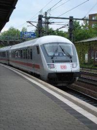 Ein Intercity der deutschen Bahn