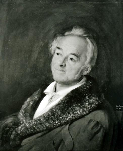 Ernst Moritz Arndt, 1843 ein Portrait von Johann Ferdinand Bender