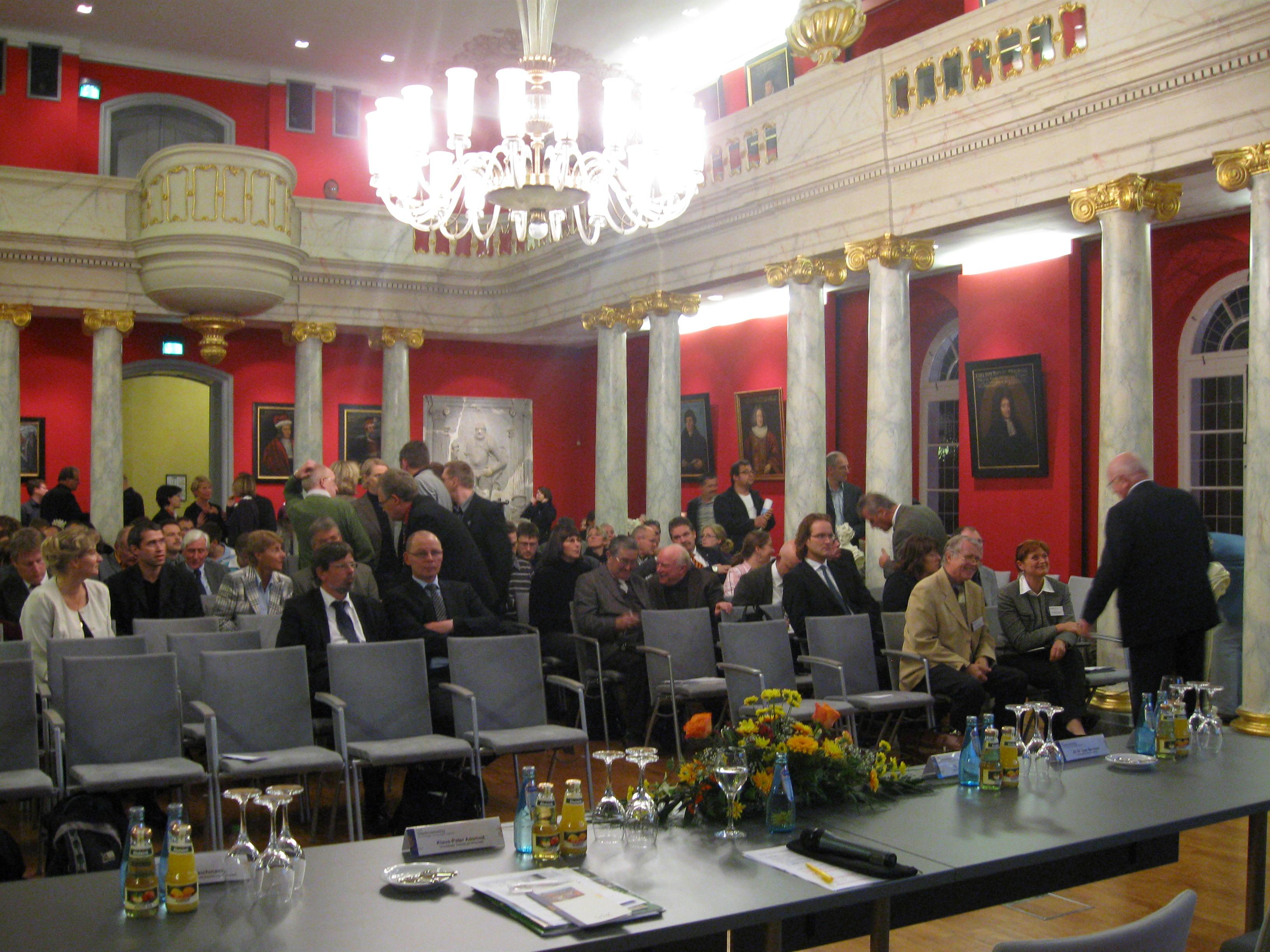 Greifswald University Club lud zum Händeschütteln