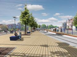 Museumshafen nach Fertigstellung (Quelle: Tiefbau- und Grünflächenamt)