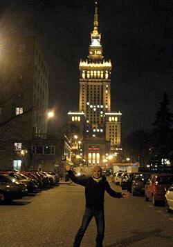 Norman in Warschau-privat