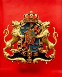 Wappen des schwedischen Königs Adolph I. Friedrich (Quelle: Pommersches Landesmuseum)