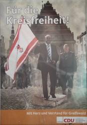 Ebenfalls ein Griff ins Klo: Liskow und Hochschild als Retter der Kreisfreiheit.