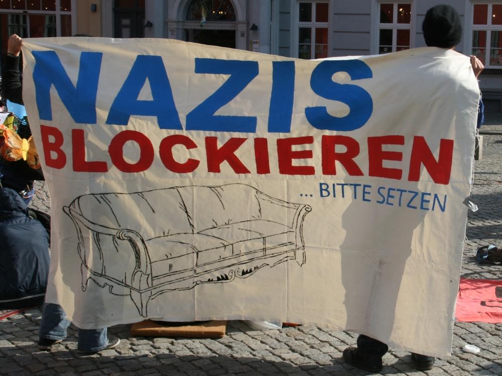 Das Blockademotto