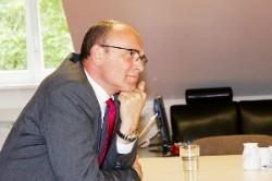 Im Kampf ums Direktmandat: Erwin Sellering im Interview