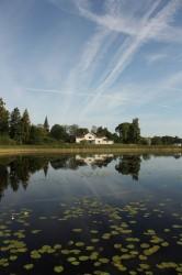 Ein See in Schweden.
