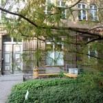 Der Hinterhof von dem Institut für Botanik Landschaftsökologie