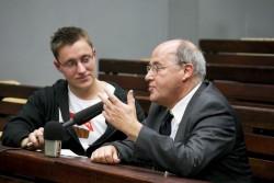 Martin Hackbarth im Gespräch mit Gregor Gysi