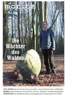 moritz 97 – April 2012 – Die Wächter des Waldes