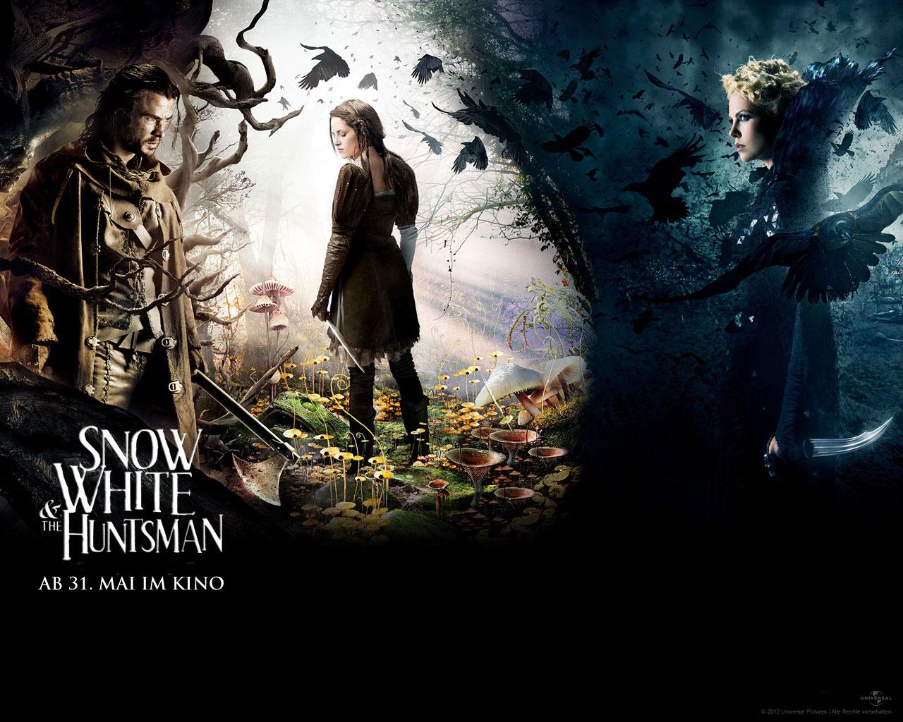 Snow White & the Huntsman: Unheimliche Königin trifft auf ausdruckslose Prinzessin