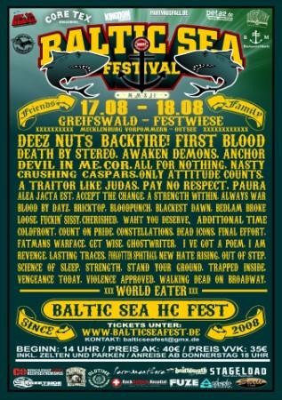 Baltic Sea Festival – Den Pit zum Ausrasten bringen