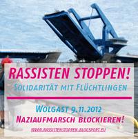 Mit Lampions, Blockaden und Verbot gegen Nazi-Fackeln
