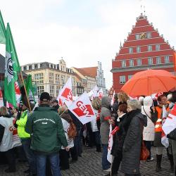 """""""Wir müssen Weltverbesserer ausbilden"""" – Lehrerstreik in Greifswald"""