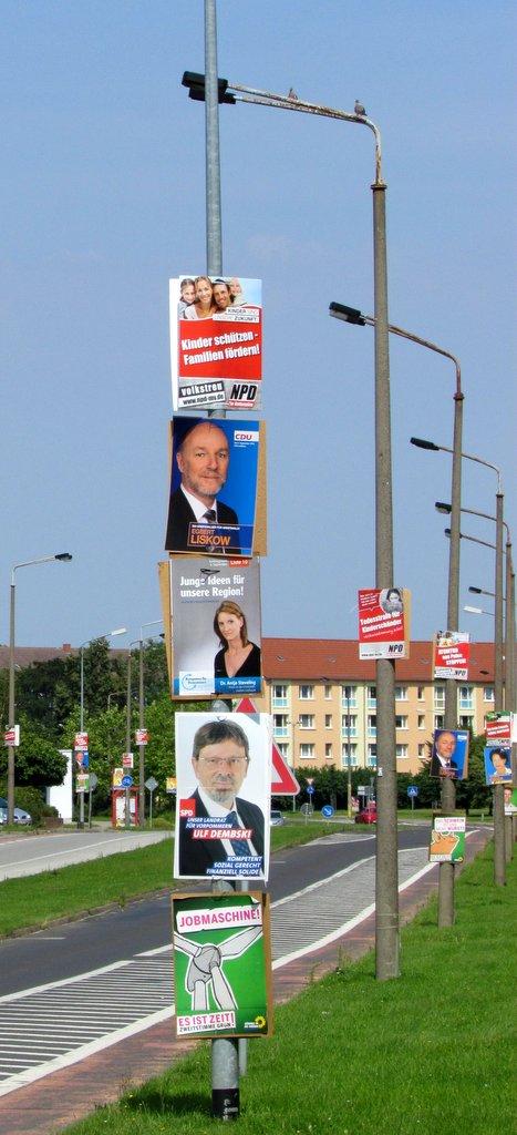 Plakatflut zum nächsten Wahlkampf gesichert