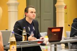 Milos Rodatos, Präsident des Studierendenparlaments