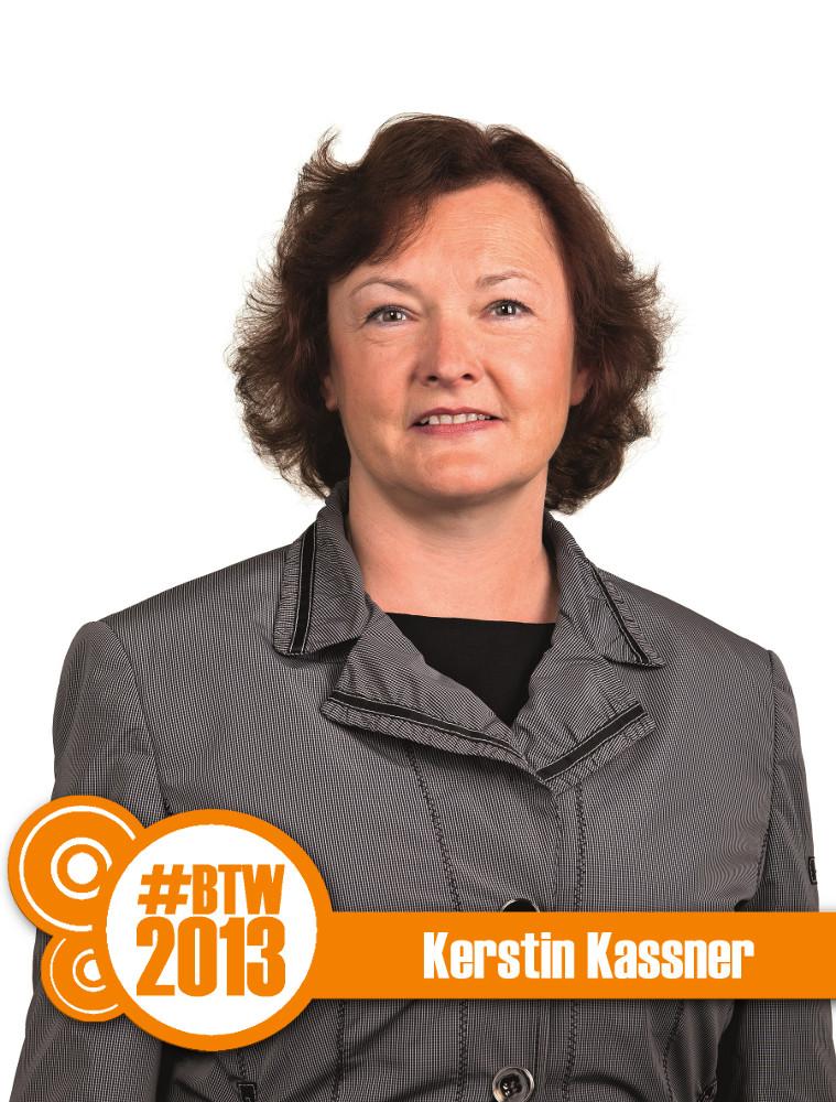 Kandidatin Kassner: fordert Mindestlohn, zahlt aber keinen
