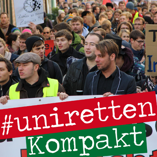 #uniretten-Kompakt: Beerdigung und Trillerpfeifen