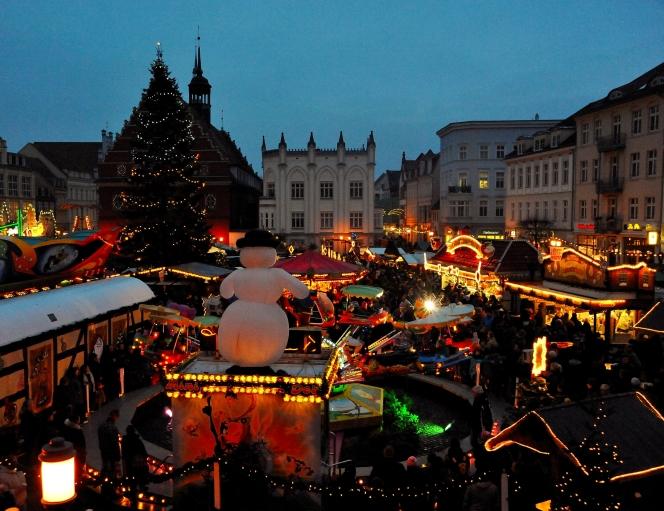 Weihnachtsmarkt Greifswald 2021