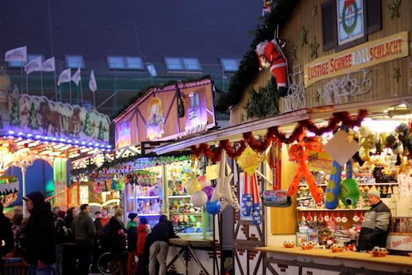 Weihnachtsmärktsflair in anderen Ländern