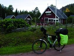 Typisch schwedisch: Rote Häuschen.