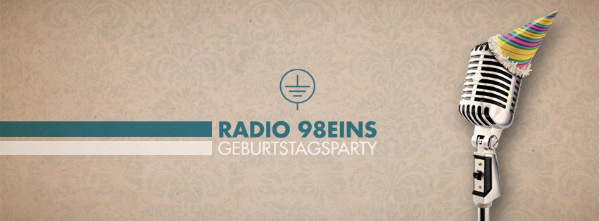 radio 98eins Geburtstagsparty am 10.1.