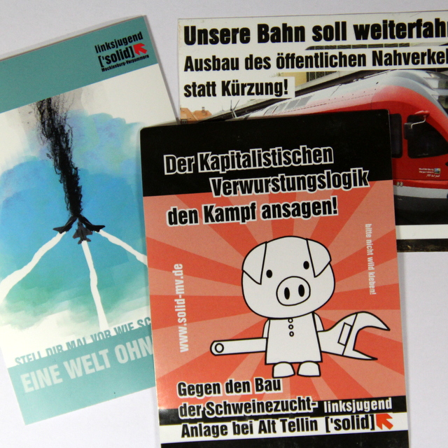 """""""Drohgebärden"""" gegen SDS-Mitglieder"""