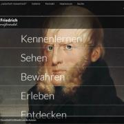 Screenshot Internetseite CDF