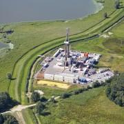 Luftaufnahme der CEP Erkundungsbohrung Lütow 51, 2011