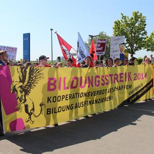 Bildungsstreik rollt am 25. Juni durch Rostock