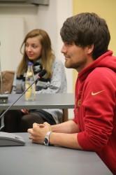 Das erste Mal hat das StuPa die studentische Vertretung für die zentrale Lehrerbildungskommission gewählt: Hannes Nehls.