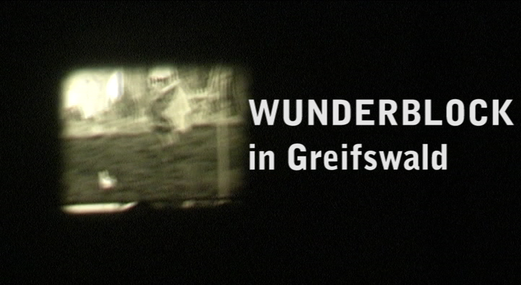 """Wunderblock"" in Greifswald"