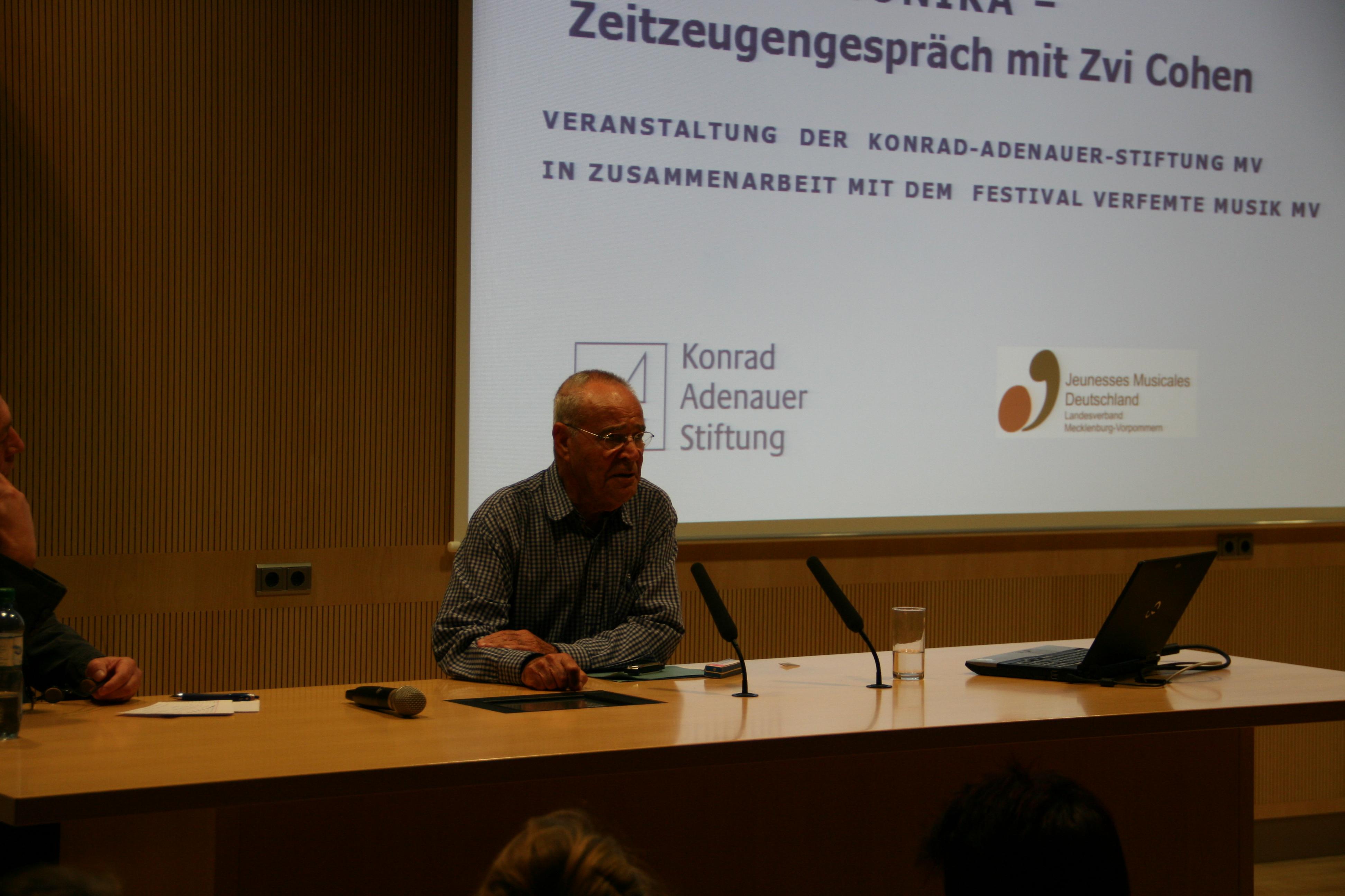 Die Mundharmonika rettete ihm das Leben – Holocaust-Überlebender sprach im Krupp-Kolleg