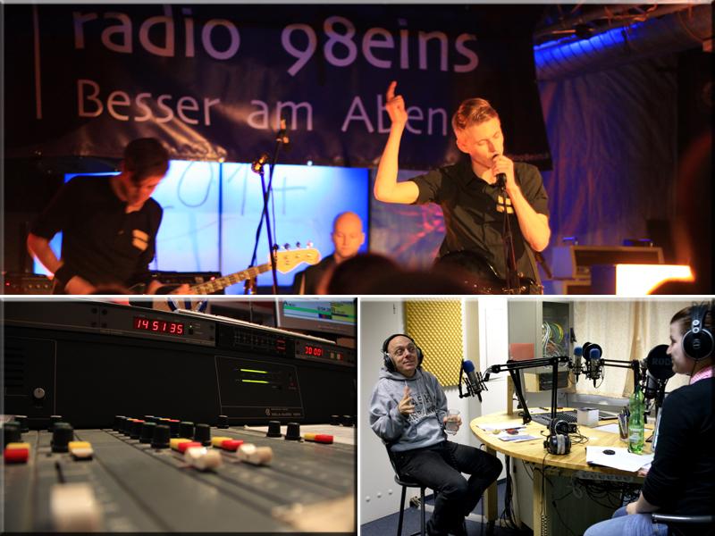 radio 98eins sucht Radiomacher!