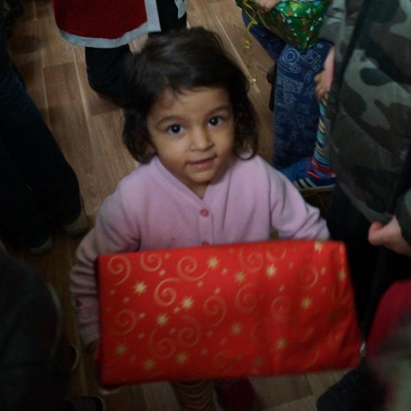 Fröhliche Weihnachten in den Flüchtlingsheimen