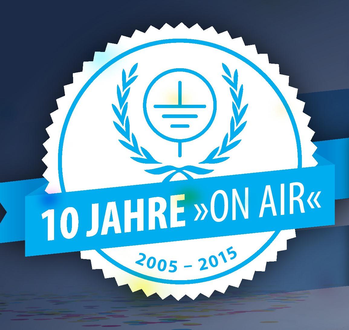 10. Radiogeburtstagsparty am 9. Januar 2015