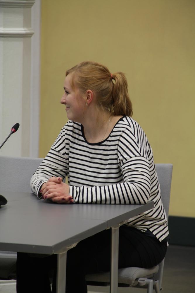 Die neue Pressereferentin des AStAs: Antje Stahmann