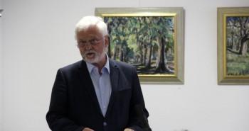 Oberbürgermeister Arthur König eröffnet die Buchmesse