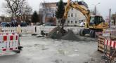 Baustellen in der Innenstadt müssen wieder aufgemacht werden *Aprilscherz*