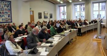 Die Mitglieder der Bürgerschaft verfolgten aufmerksam der Debatte um die Mietpreisbremse