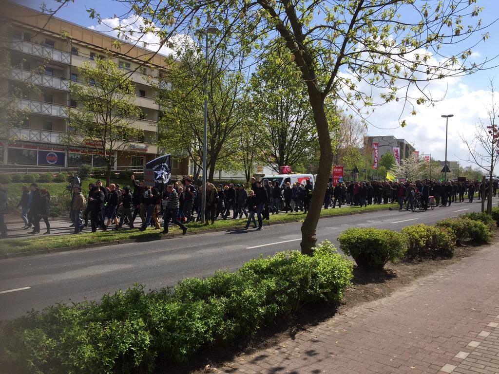 Demo-Live-Ticker: Anti-Nazi-Demo in Demmin