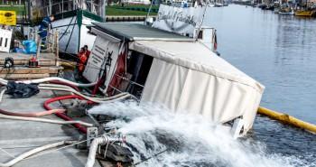 Tortuga im Museumshafen gesunken – NEWS Ticker inklusive