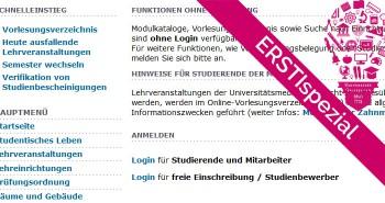 ERSTIspezial: HIS System für Erstis erklärt