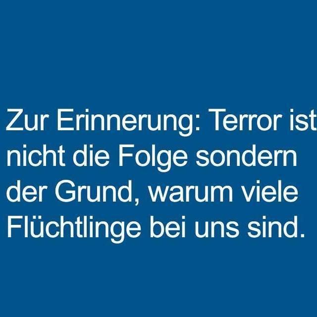 Kommentar: Willkommen zwischen Terror und Flucht