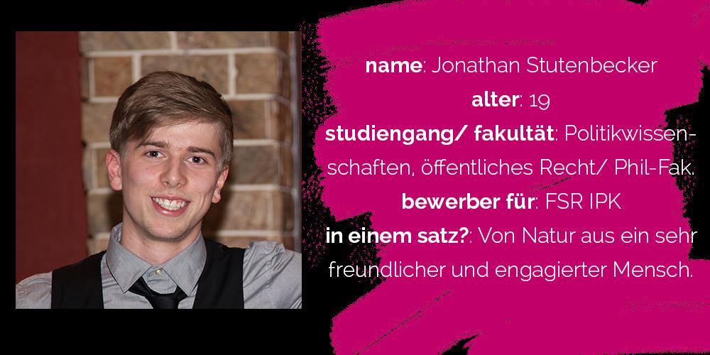 Jonathan Stutenbecker