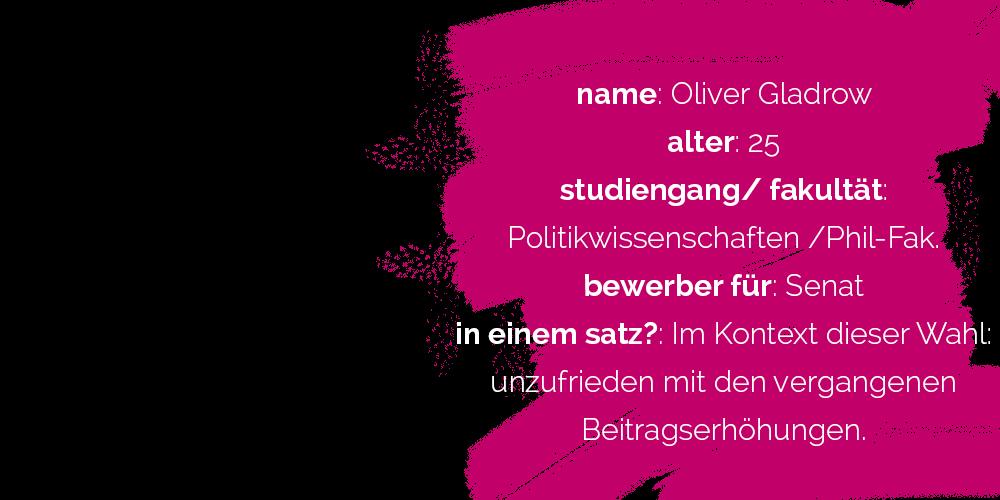 Oliver Gladrow