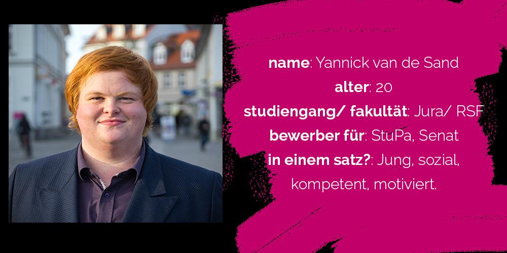 Yannick van de Sand